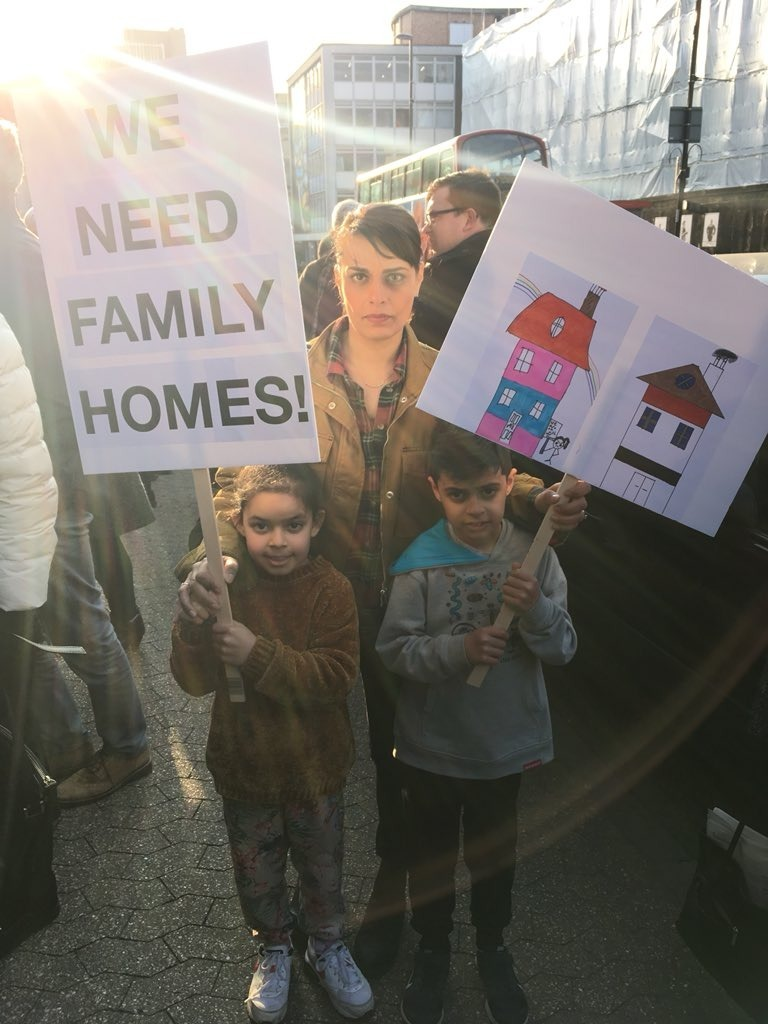 Building flats next to school site would 'destroy community' neighbour says