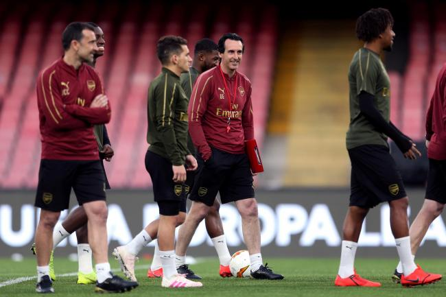 Unai Emery is keen to bring young talent into the Arsenal squad