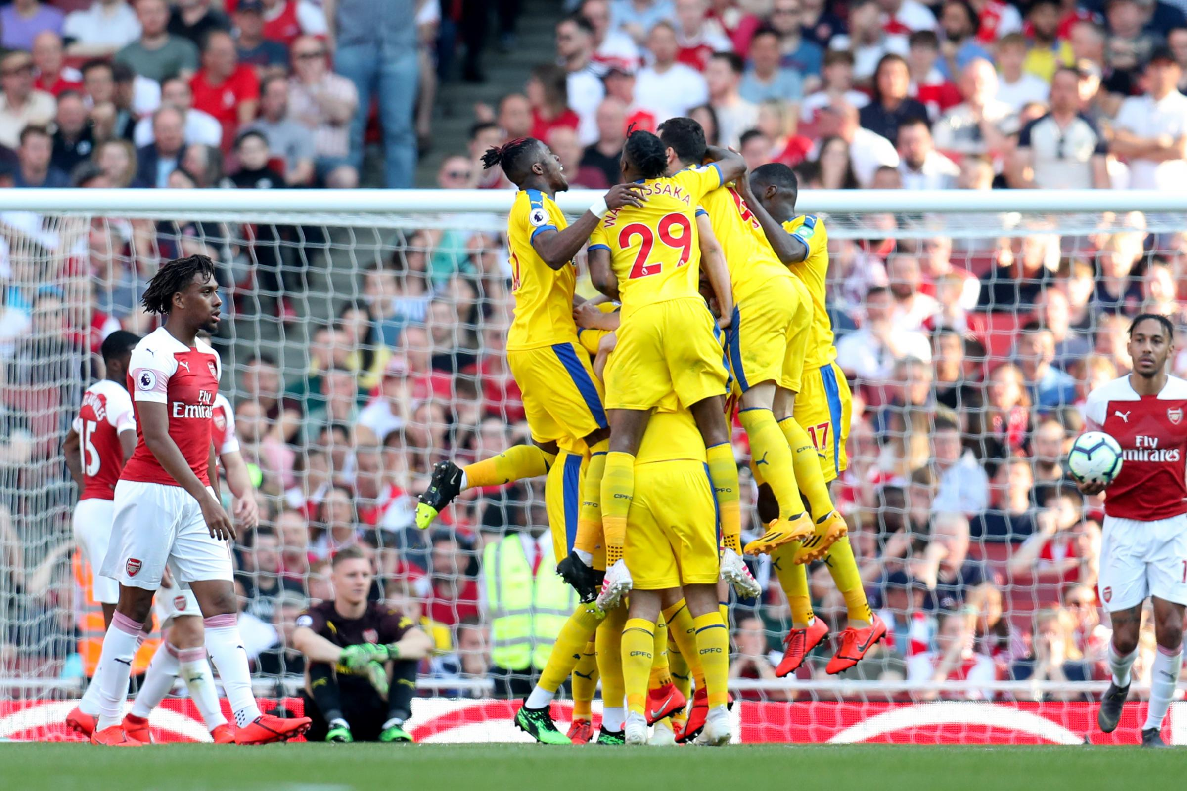 Player ratings from Palace's 3-2 win over Arsenal - who's back to his best?