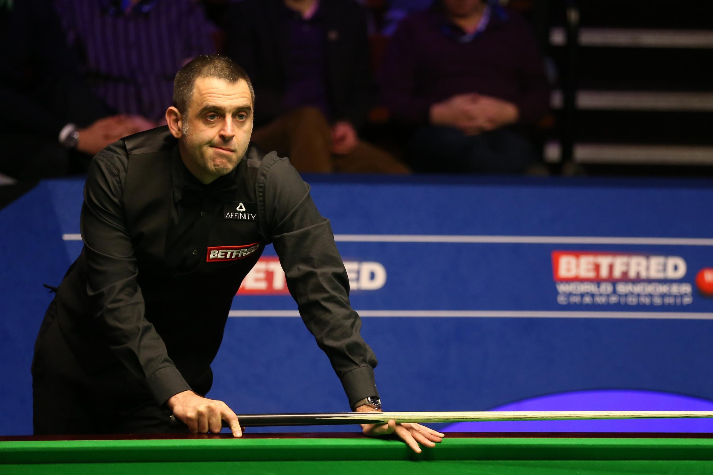 Ronnie O'Sullivan was on the receiving end of arguably the biggest shock in Crucible history as he lost to James Cahill