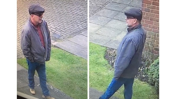 Police search for fake builder who allegedly stole pensioner's OBE from home