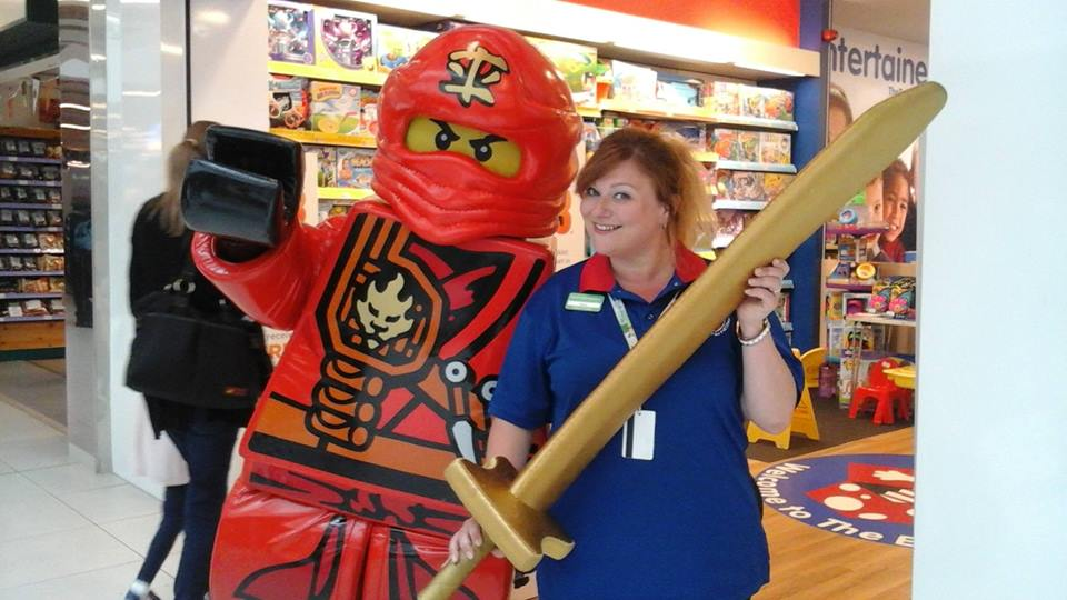 Come and meet Lego Ninjago's Kai when he visits Two rivers Shopping Centre this July.