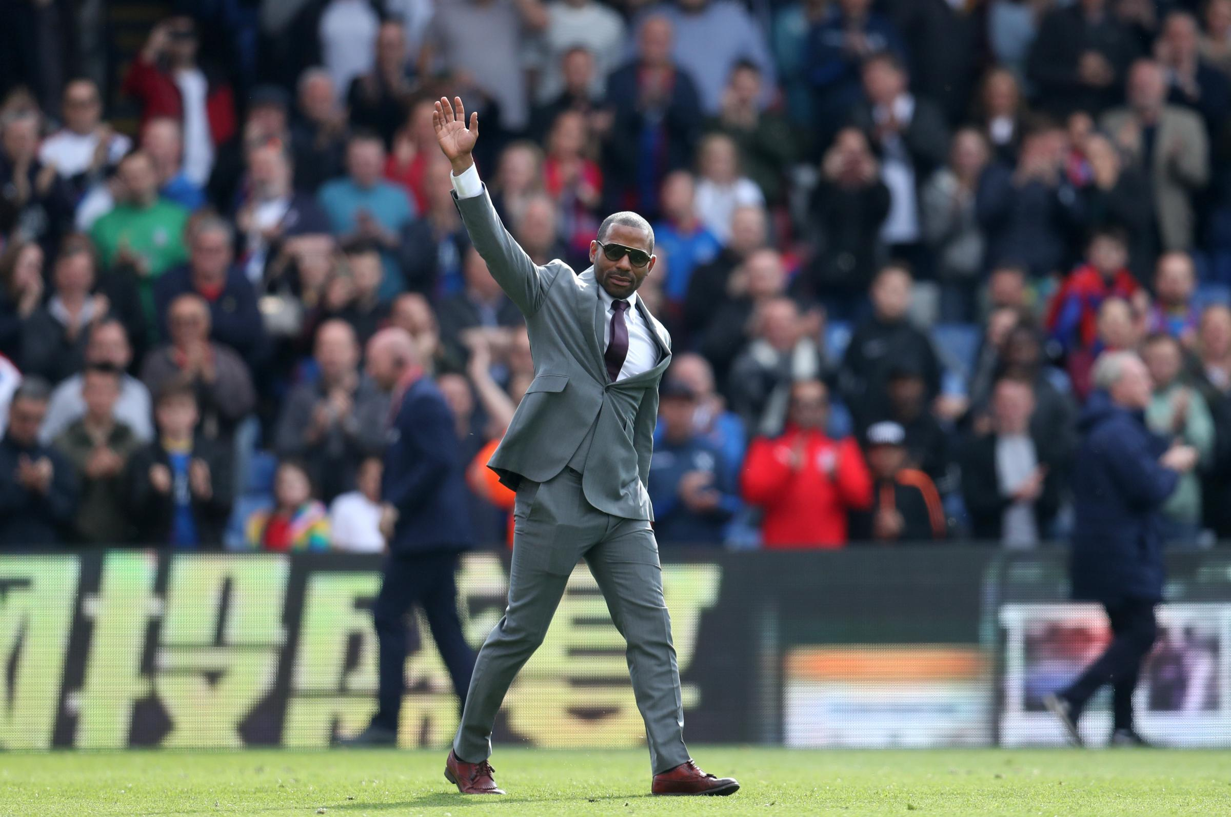 Emotional goodbye to two Palace legends - 'Forever one of us'