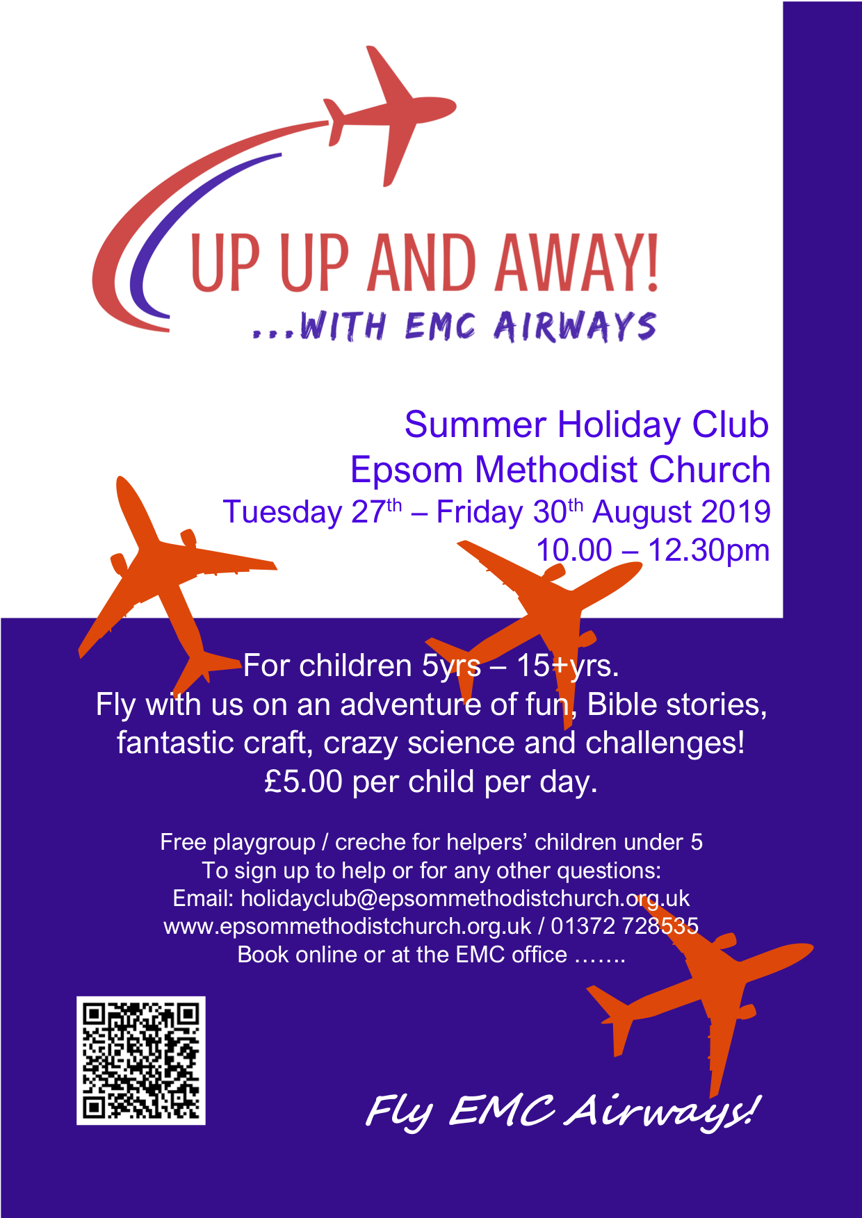 Up Up and Away! ... with EMC Airways.