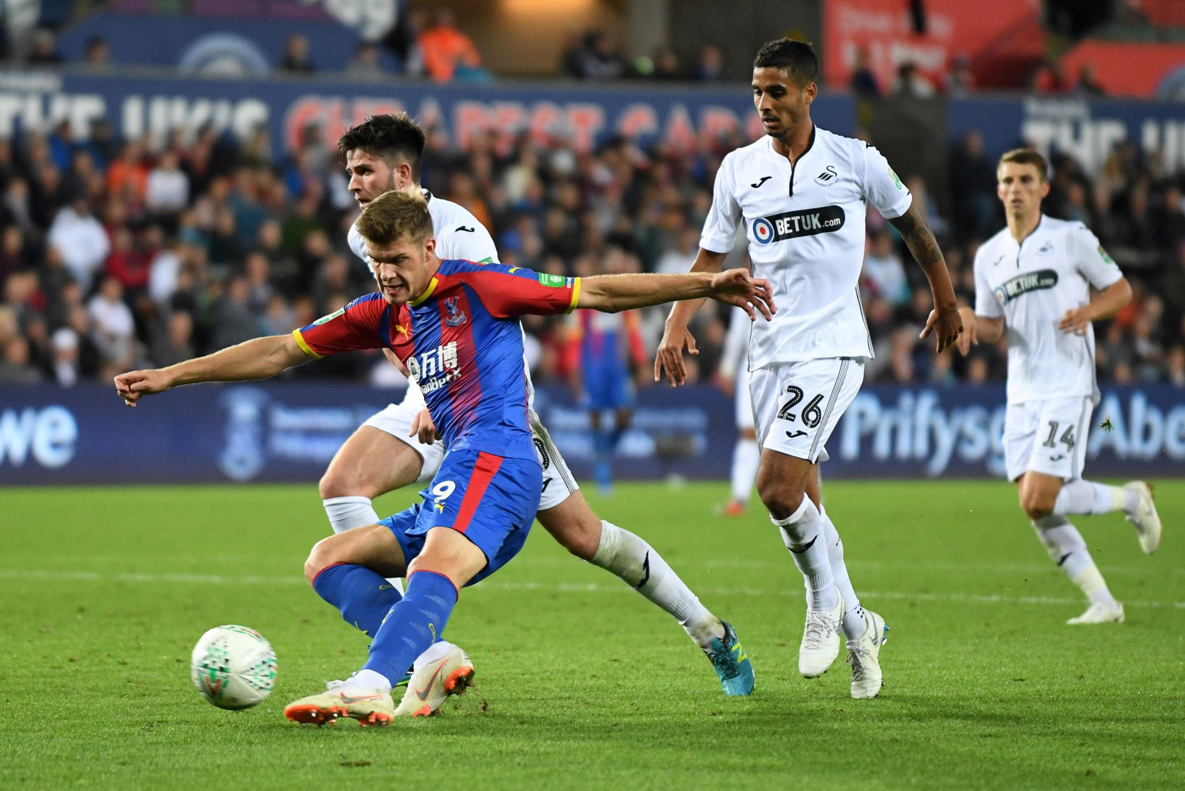 What did Alexander Sorloth do to get Palace fans calling him a 'Legend'?