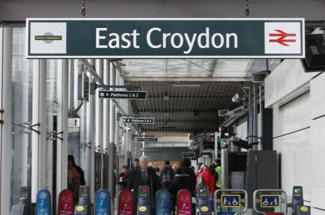East Croydon station is the busiest in Britain