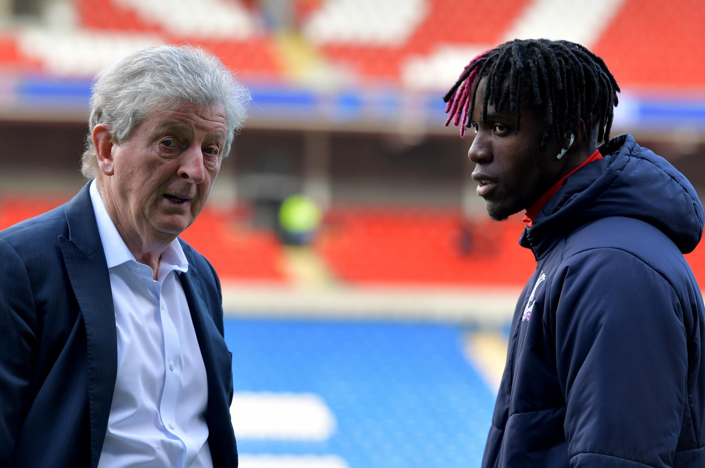 Where could Zaha end up after reportedly asking to leave Palace?