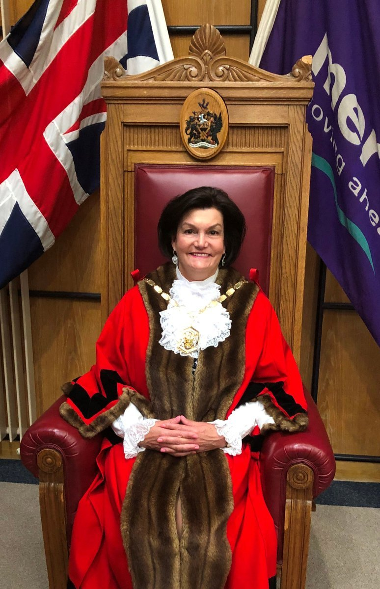 Wimbledon Park Councillor Janice Howard named new mayor of Merton