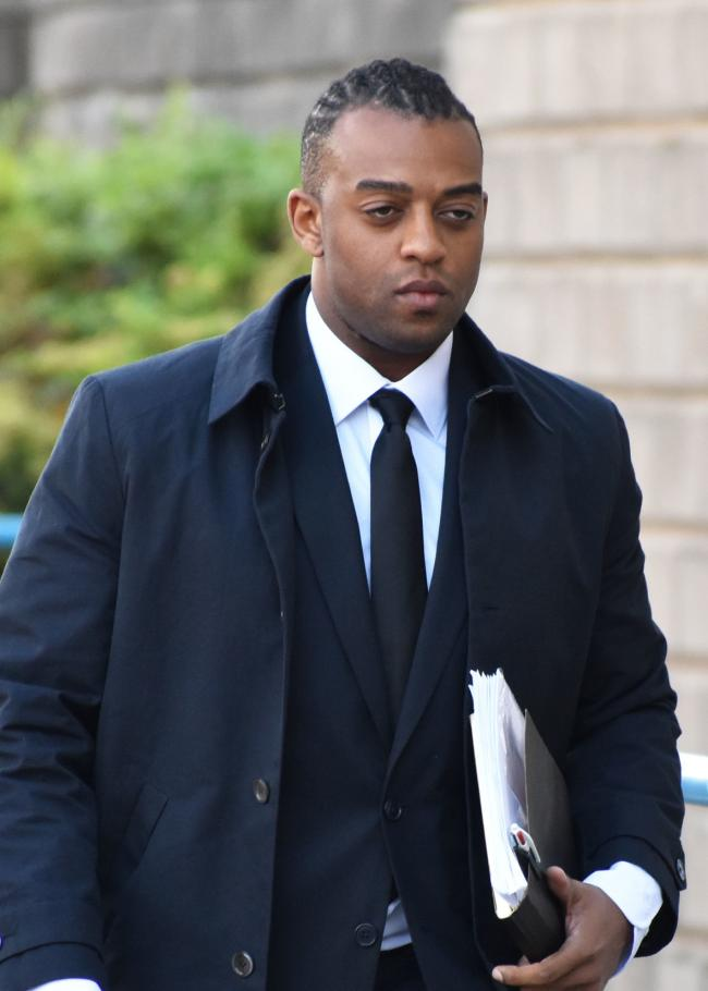 Former JLS singer Oritse Williams arriving at Wolverhampton Crown Court (Matthew Cooper/PA Wire)