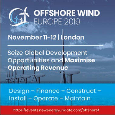 Offshore Wind Europe 2019 (11-12 Nov) co-located with Floating Wind and Tidal