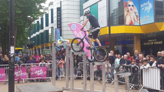 BMX display riders will be returning for Street Live 2019