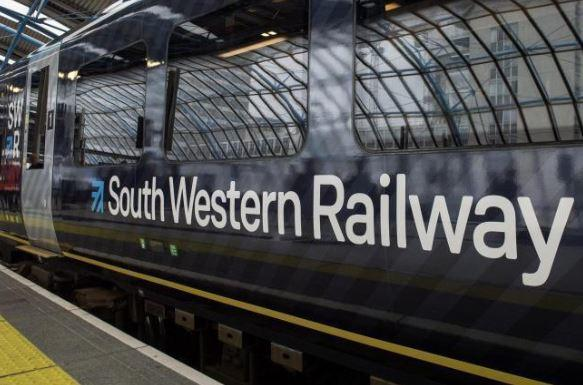 Southern services are affected