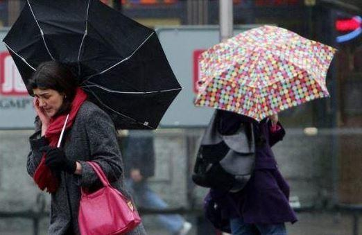 A weather warning has been issued over London