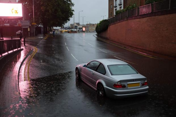 Your Local Guardian: Flooding in Kingston on Monday night. Image: Ollie Monk