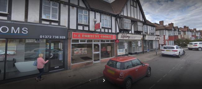 The Fortune Cookie in Ewell. Image: Google Maps